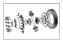 View DIFFERENTIAL, DIFFERENTIAL ASSY. Complete, Transaxle.  Full-Sized Product Image