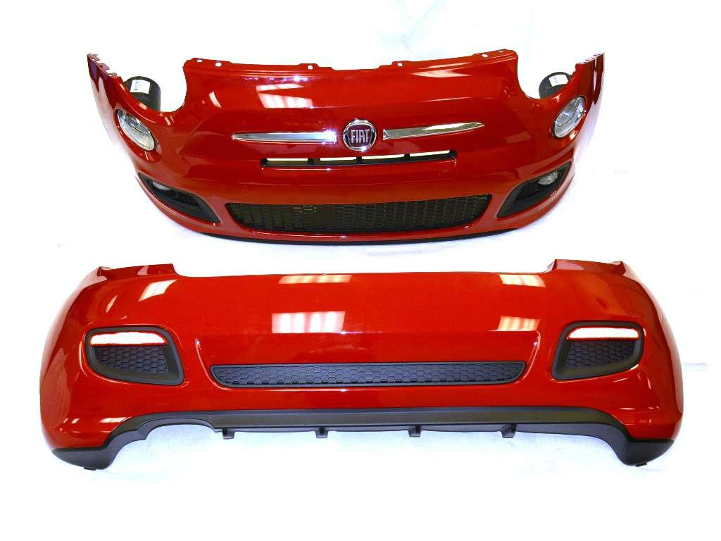2016 Fiat 500 Front And Rear Fascia Kit  Sport Model